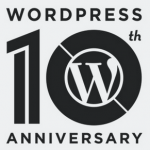 WordPress 10歲了!!